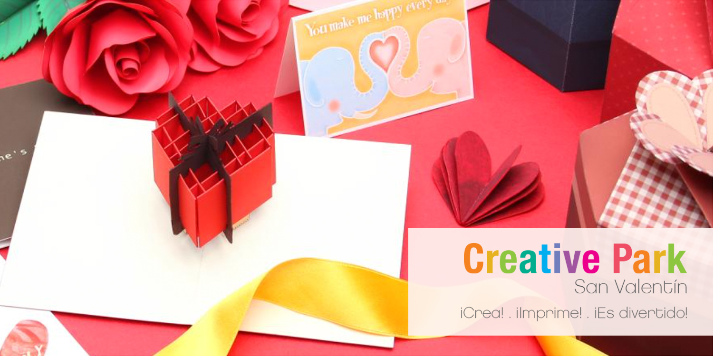 3 detalles de Creative Park para San Valentín