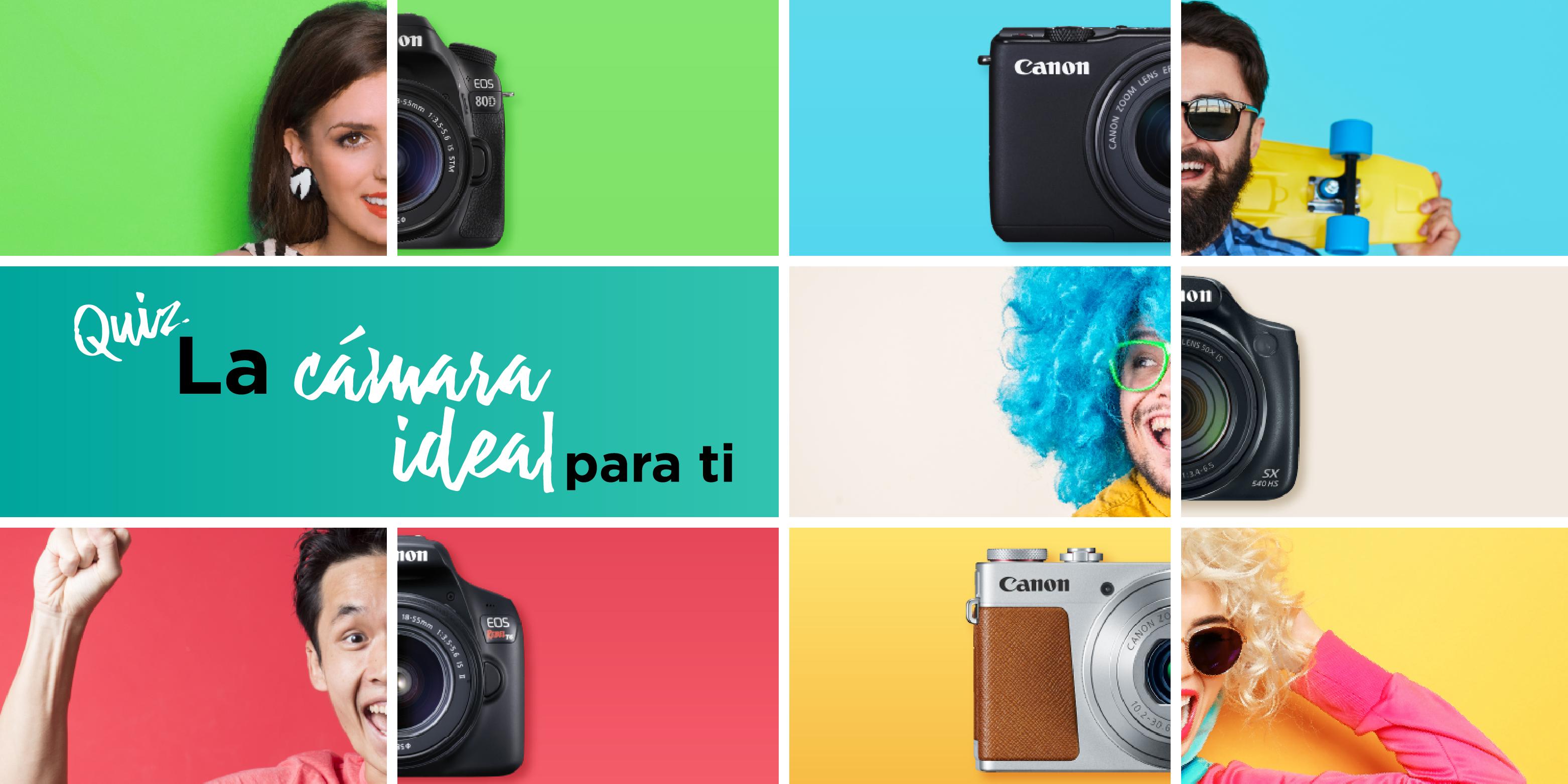 ¿Cuál es la cámara ideal para ti?
