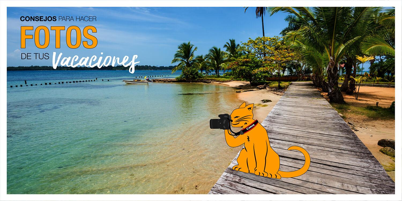 Cómo hacer fotos en tus vacaciones?