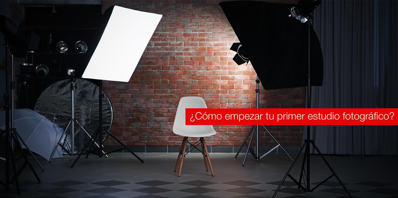 ¿Cómo empezar tu primer estudio fotográfico?
