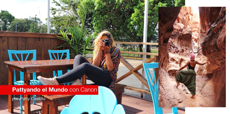 Pattyando el Mundo con Canon