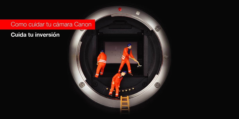 Como cuidar de tu cámara Canon