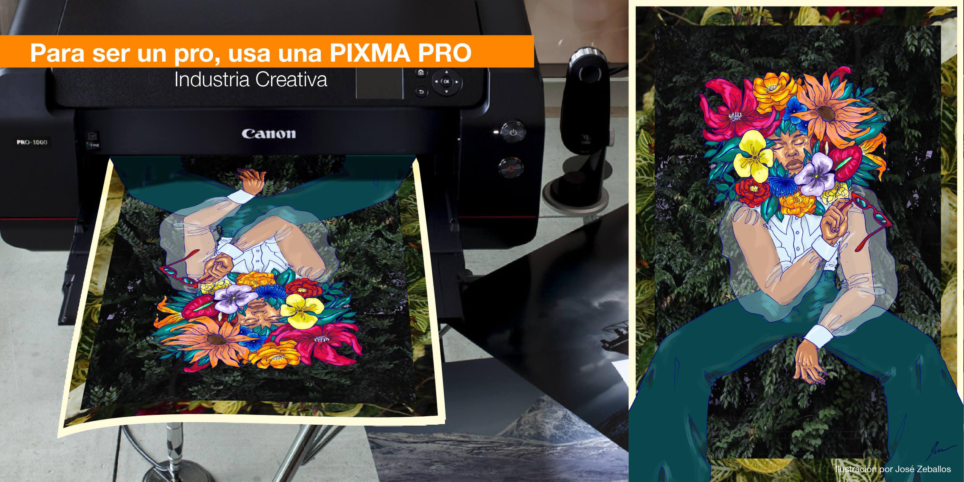 Para ser un pro, usa una PIXMA PRO