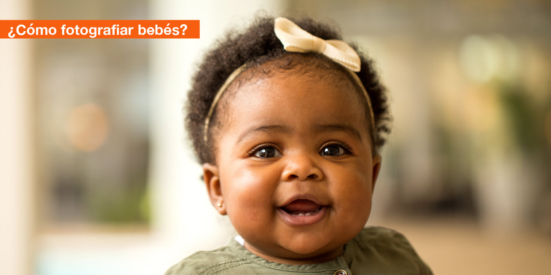 ¿Cómo fotografiar bebés?