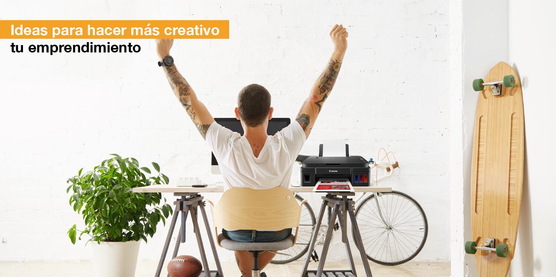 Ideas para hacer más creativo tu emprendimiento
