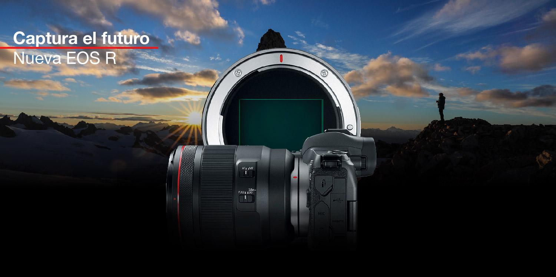 Captura el futuro con la nueva cámara Canon EOS R